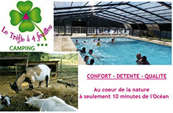 camping avec parc animalier